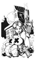INKS: Hellgirl FINAL by rantz