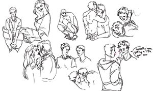 sketchdump19 by tea--cup
