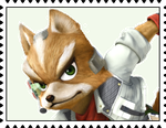 Fox McCloud's Stamp by RalphAguilar462