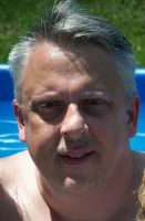 At the Pool 7/17/13 by johnfboslet2001