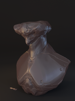 Sculpting Practice 2 by mrhd