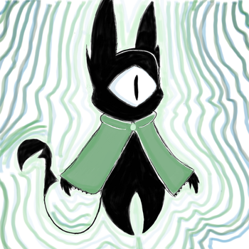 New OC named Trust  by LittleFawns