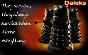 Daleks - The survivors by ThyNameIs-Jai