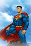 Color - Superman All Star by pauloskinner