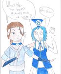 Fairy Tail-Avatar the Last Airbender crossover by dalastboss