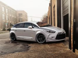 Citroen Ds5 by blackdoggdesign