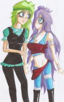 Collab with Sunny OuO .:Colored:. by JeskaLuvsL
