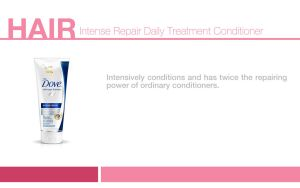 Hair Daily Treatment Conditioner by fayeretsolcreatives