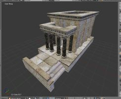 Punic Temple by LordGood