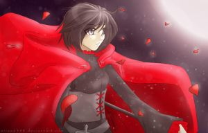RWBY: Red Like Roses by arisa6398