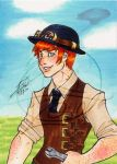 Steampunk ACEO 03 by zirio