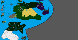World Map (updated) by freakness96