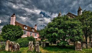 Cemetry at Rye by forgottenson1