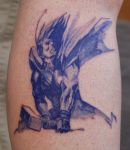 Color Wash Thor Tattoo by NateTheKnife