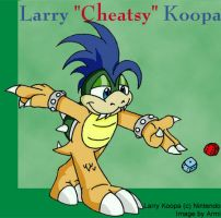 Larry the Sly Koopaling by armi