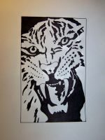 Tiger tribal by Dannfive0