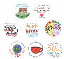 NaNoWriMo Buttons by ixris