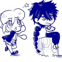 AC Daisy and Judal by VooDooDollMaster