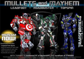 3D Movie Wreckers for Poser - DOWNLOAD NOW by RazzieMbessai