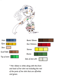 Katsumi Okayama Color sheet by Twisted0Muse0