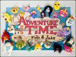 Adventure Time with Finn and Jake Bracelet Charms by Marielishere