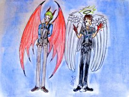 Devils And Angels by little-demons