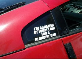 What it says on my car by boeingboeing2