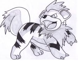 Growlithe by Taurustiger86