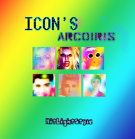 +Pack ~Icons dA by HitLightStyle