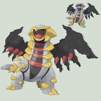 POKEMON GIRATINA by mssingno
