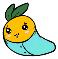 baby carrot kun by FizTheAncient