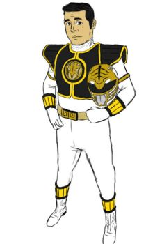 White Ranger Bobby by OsoTheWolfBear