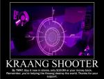 Thanks for supporting the Kraang. by alittlegeekish