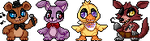 Five Nights At Freddy's Icon Set (Animated) F2U by Eevie-chu