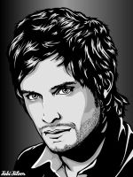 Gael Garcia Bernal by studiocartoon