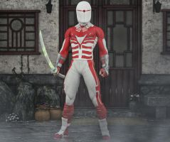 Captain Japan 2nd skin textures for M4 by hiram67