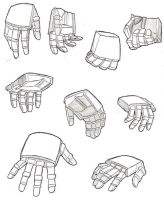 Transformer Hand study by yamis