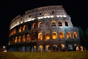 colosseo at night. by blackTWINS