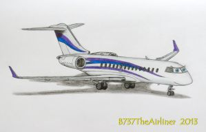 Carla the Private Jet by B737TheAirliner