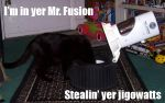 Mr. Fusion LOLcats by Raggletag