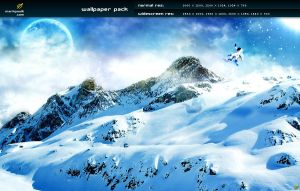winter wonderland - wp pack by mpk2