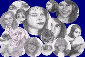 Collage of my drawings by mcsoftware