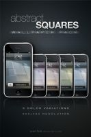 Abstract Squares, iPhone WP by jsw1tch