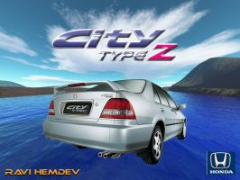 Honda CITY by hrk