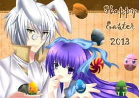 Guu : Happy Easter 2013 by ravealie