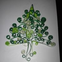 Quilled Tree by screaminmimi79