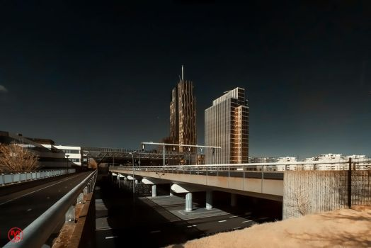 Downtown Almere by Boldgraphy