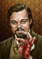 Dicaprio from Django film. by Nyu-Lilu