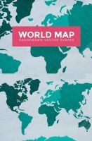 World Map Vector Outlines by Designslots