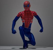 Spiderman UK 2nd skin textures for M4 by hiram67